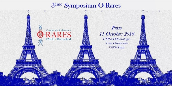 The 3rd Rare Disease Symposium of the O-Rare Network will be held in Paris on Thursday, October 11